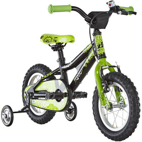 Ghost Powerkid AL 12 Niños, night black/riot green/star white